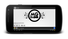 MGradio player